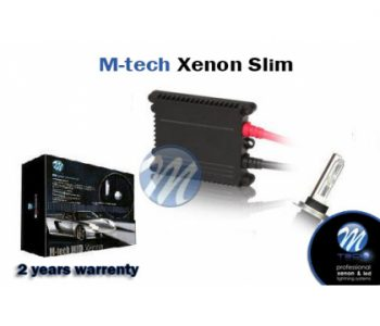 M-tech Xenon H1 6000k Slim