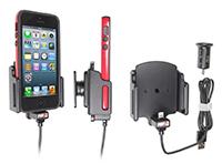 Actieve Houder iPhone 5(S) met hoesje 62-77 mm