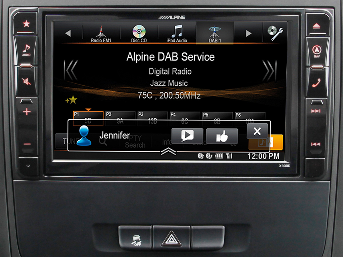 alpine navigation system for mercedes vito 447 x800d. Black Bedroom Furniture Sets. Home Design Ideas