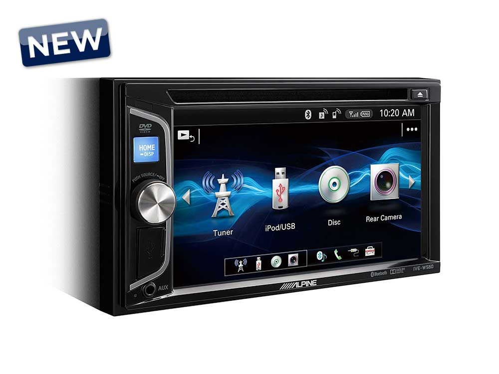 alpine ive w560bt 2 din mobile media station autoradio. Black Bedroom Furniture Sets. Home Design Ideas