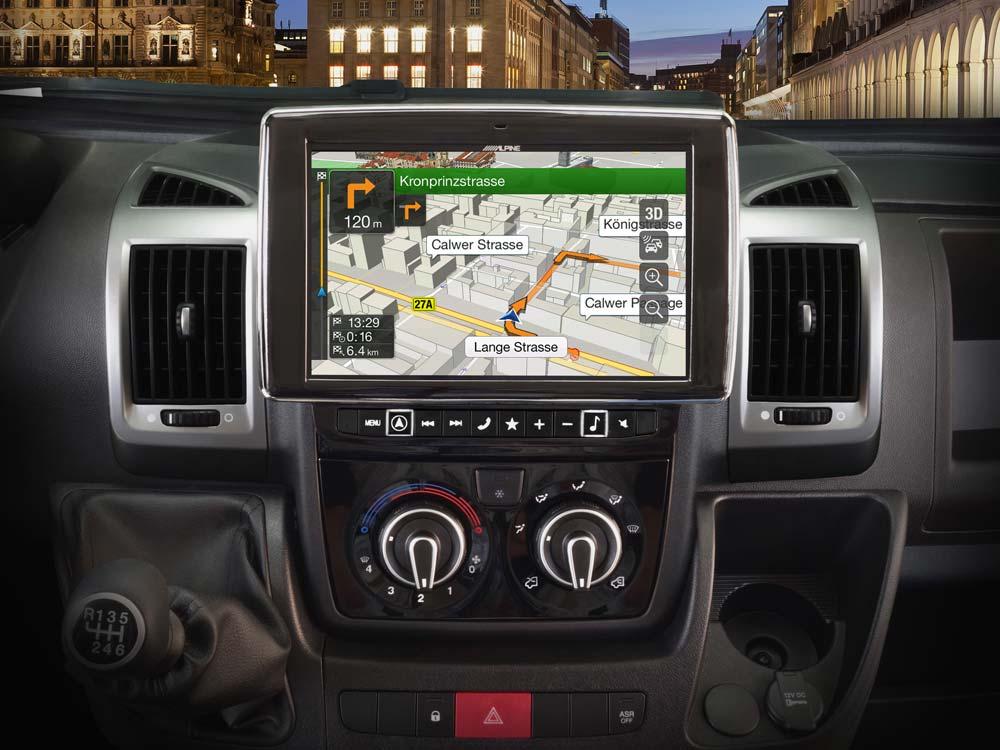 Kenwood mp3 usb 1din AUX autoradio pour Peugeot Boxer Citroen Jumper Fiat Ducato