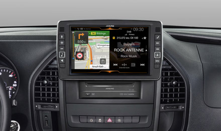 Mercedes-Vito-Navigation-One-Look-Display-X902D-V447