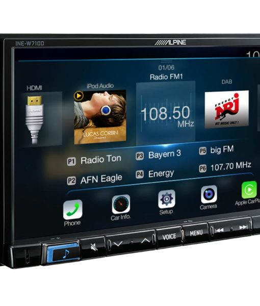 Navigation-System-INE-W710D-Radio-FM