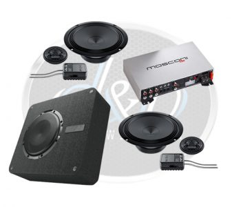 Audio upgrade Mercedes A klasse